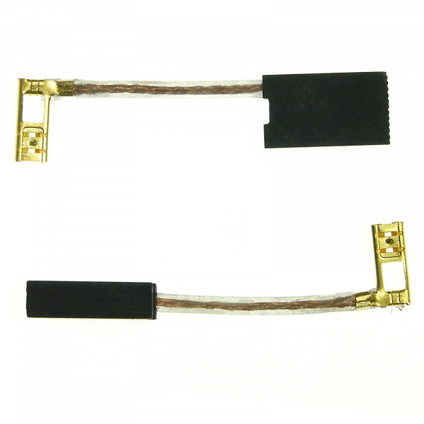 Kohlebürsten für AEG WSL230, WSV1900, ersetzt 369476 - 6,3x12,5x20 mm - PREMIUM (P2309)
