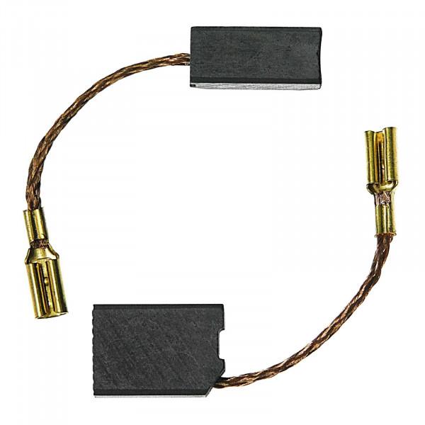 Kohlebürsten für DEWALT WS 42 VA, WS 42 VB, DW456A, DW456B - 6,3x10x14 mm - PREMIUM (P2081)