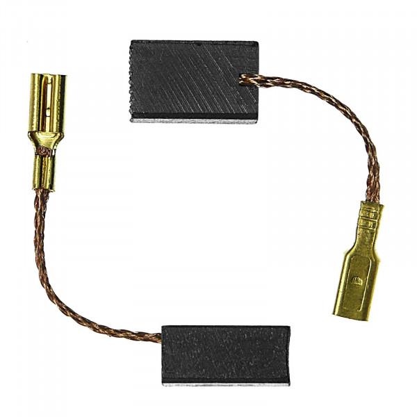 Kohlebürsten für RUPES BR 51 A, LH 16, BR 63 AE, BR 65 AE - 6x8x13 mm - PREMIUM (P2127)