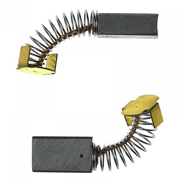 Kohlebürsten für PROTOOL ersetzt 627010 + 627033 - 6,3x10x16,5 mm - PREMIUM (P2177)