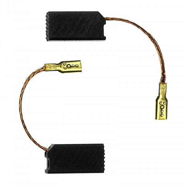 Kohlebürsten für FLEX LD1709FR, LDB1709FR ersetzt K 49 - 6,3x8x15,5 mm - PREMIUM (P2220)