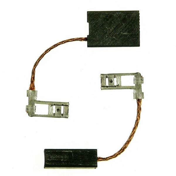 Spazzole di carbone per METABO KT 1530, OF E 10, OF E 1229 - 6,3x12,5x18 mm - PREMIUM (P2073)