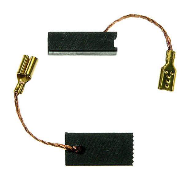 Kohlebürsten für AEG WSE 800-125, WSE 8-125 MX, ersetzt 358319 - 5x8x16,5 mm - PREMIUM (P2171)
