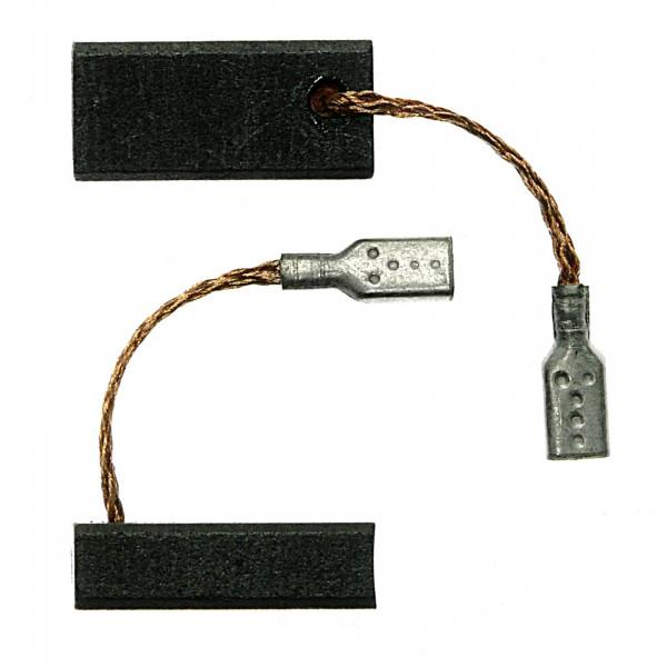 Spazzole di carbone per BOSCH 1530.1, 1533 FBZ 40-30, GKF 600 CE - 5x8x17 mm - PREMIUM (P2052)