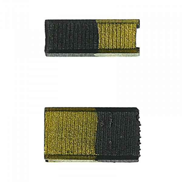 Spazzole di carbone per COLLOMIX HSW125, RGE 100, RGE1000 - 5,4x8,5x15 mm - PREMIUM (P2012)