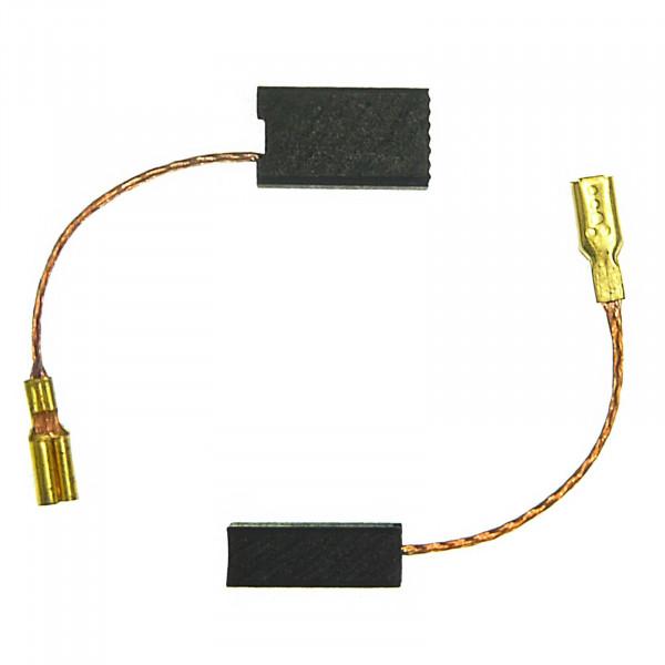 Kohlebürsten für KRESS WTS 900 E, 900 WTSE, HEX 6385-E - 4,8x7,8x13,8 mm - PREMIUM (P2083)