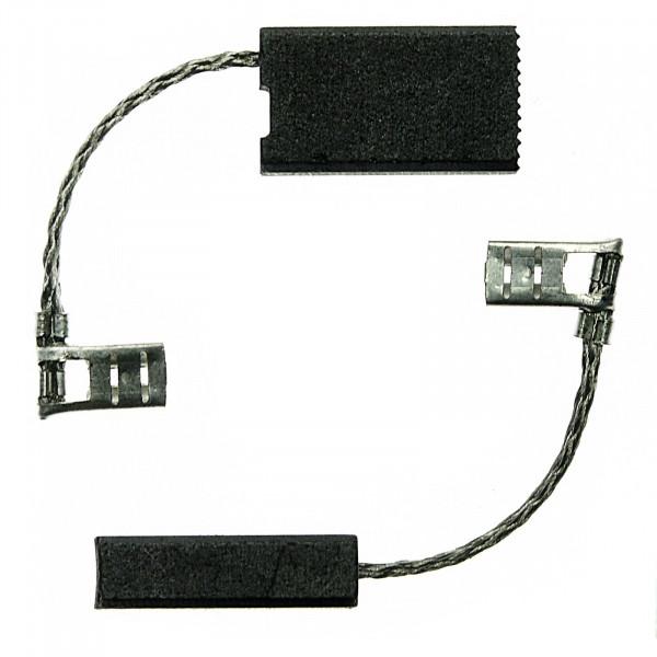 Spazzole di carbone per MAFELL MKS 65, MKS 75, MKS 85, MKS 125 - 6,3x12,5x22 mm - PREMIUM (P2055)