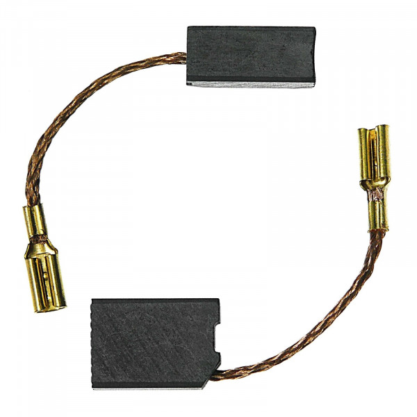 Kohlebürsten für DEWALT DW 458 A, DW 824 C, DW824-QS, DW824 - 6,3x10x14 mm - PREMIUM (P2081)
