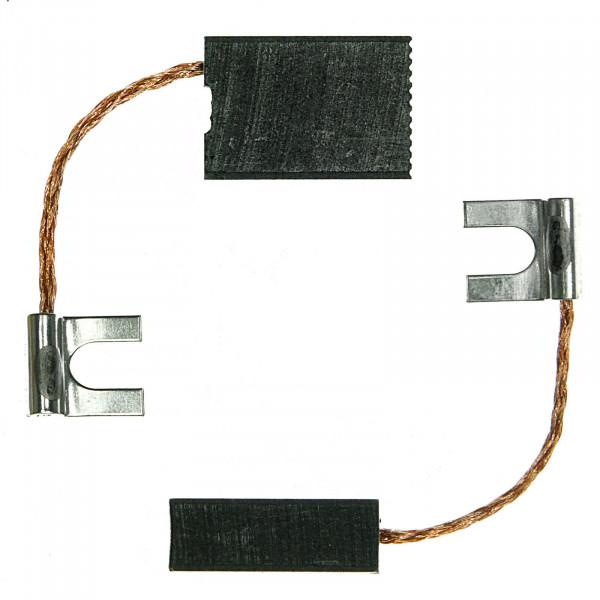Spazzole di carbone per BOSCH D 23/13, GBM 16-2 RE - 6,4x12,5x18 mm - PREMIUM (P2015)