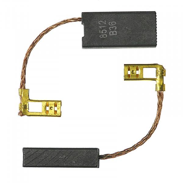 Spazzole di carbone per HILTI TE-56, TE 56-ATC - 7x12,5x26 mm - PREMIUM (P2091)