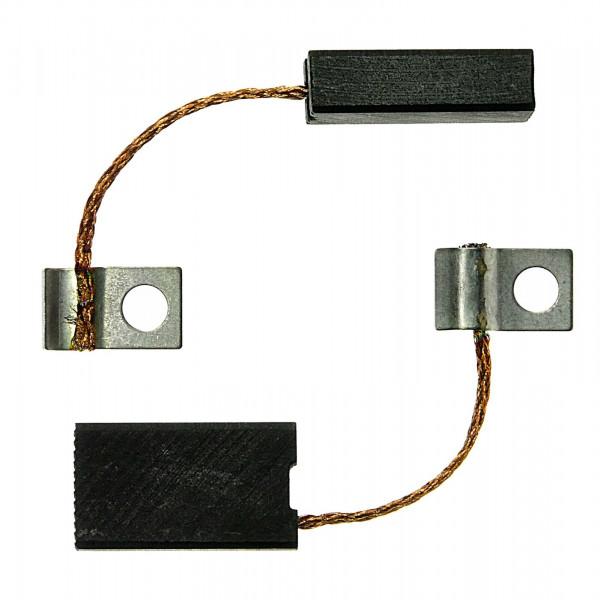 Spazzole di carbone per WACKER EHB 10, EH 8, DERIVADOS - 6,4x12,5x22 mm - PREMIUM (P2056)