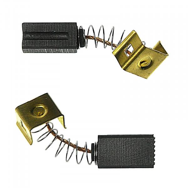 Kohlebürsten für BLACK & DECKER KG 900,KG 915,AST 6,AST 15,FG 005 - 6,3x8x15 mm - PREMIUM (P2082)