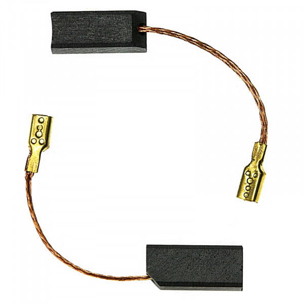 Kohlebürsten für FLEX R 1500 VR, S 103 VE (mit Kabelschuh) ersetzt K 23 - 6,3x7x16 mm - PREMIUM (P21