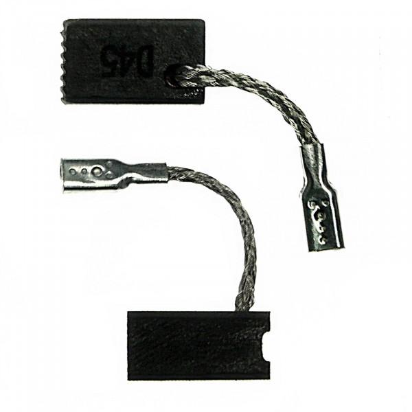 Kohlebürsten für BOSCH GWS 7-125 ET, GWS 720, GEF 7 E, GOP 250 CE - 6,5x8x13 mm - PREMIUM (P2191)