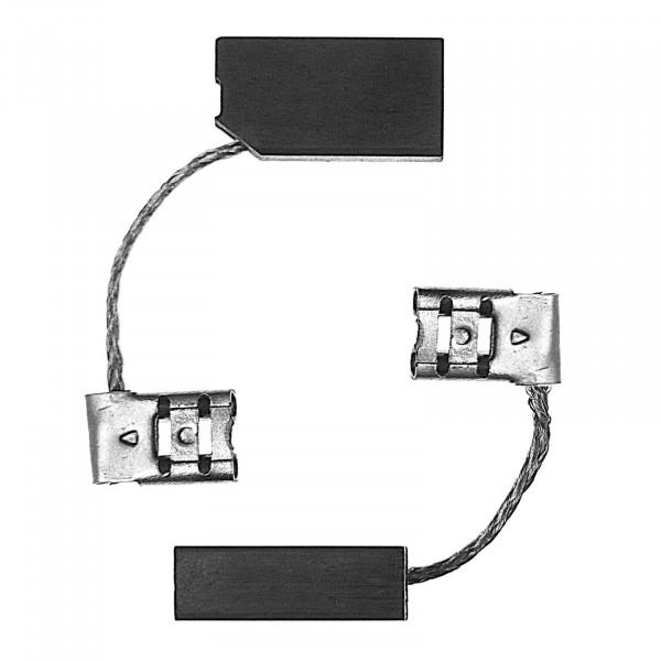 Kohlebürsten für BAIER BSS287, BSS404 Staubsauger - 6,3x10x19 mm - PREMIUM (P2228)