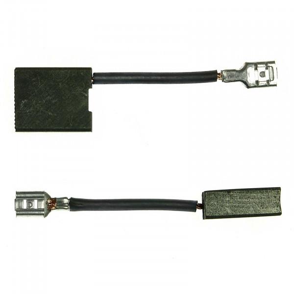 Spazzole di carbone per HITACHI G 18, G 23 MR MRU SEY SH2 SF2 UA2 U2 UBY - 7x17x20 mm - PREMIUM (P2045)