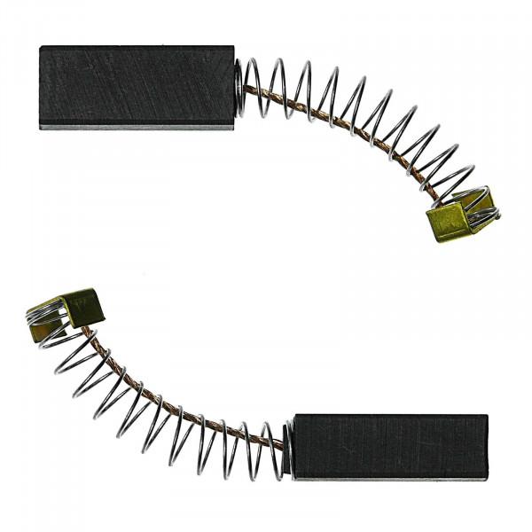 Kohlebürsten für BLACK & DECKER BD 229, BD 800, BD 846 C - 6,4x8x20 mm - PREMIUM (P2079)