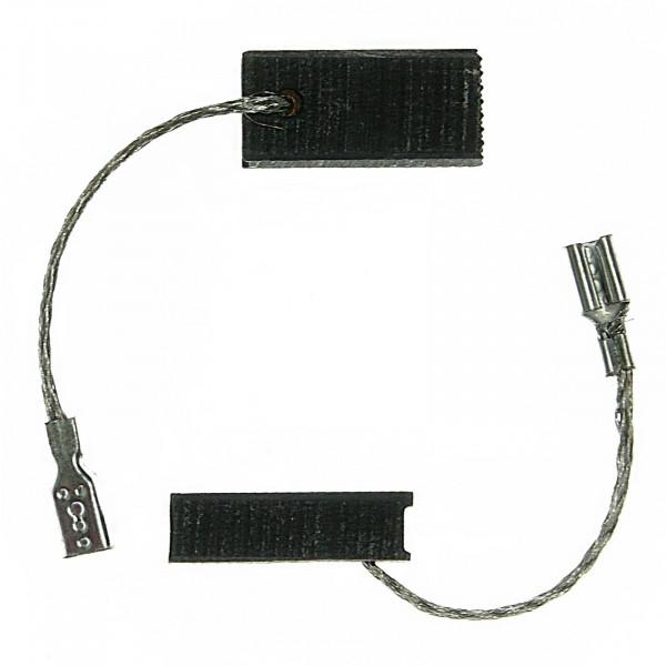 Spazzole di carbone per BOSCH 1533, FBZ 40-30, GKF 600 CE, PAM 500 - 5x8x17 mm - PREMIUM (P2061)