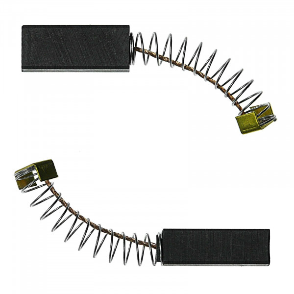 Kohlebürsten für BLACK & DECKER KR 1000 RE, PL 40 C, BD 228 - 6,4x8x20 mm - PREMIUM (P2079)