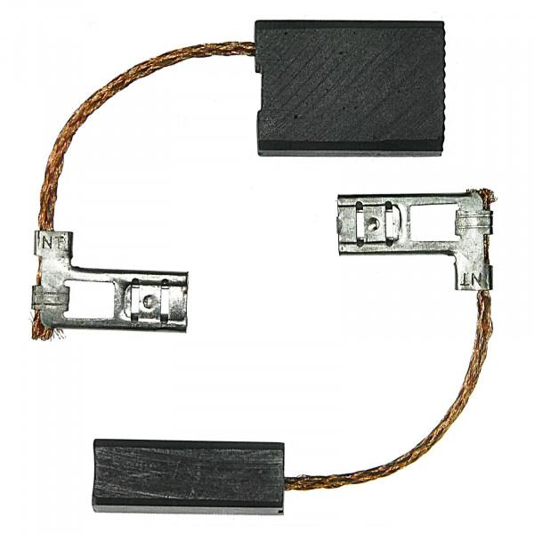 Kohlebürsten für AEG WSB2300, WSBA 2000 N, WS1800 - 6,4x12,5x18 mm - PREMIUM (P2142)