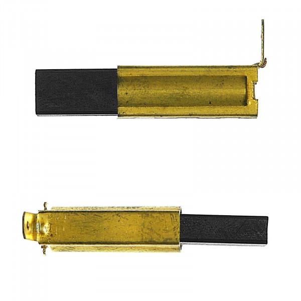 Spazzole di carbone per COLLOMIX CX 10, CX 22 Duo, CX 100 HF - 5x8x19 mm - PREMIUM (P2018)