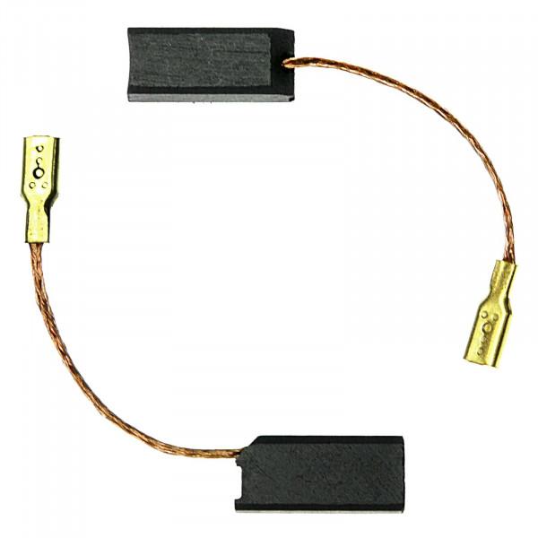 Kohlebürsten für FLEX L1109, L1109 FE, L1109A mit Steckhülse - 6,3x7x15,5 mm - PREMIUM (P2085)