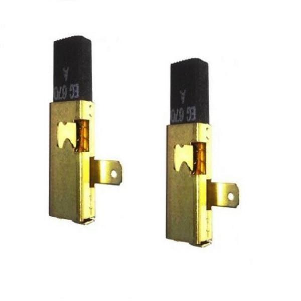 Kohlebürsten für PROTOOL MXP 1202 E, MXP 1202 EQ - 6,3x10x17,5 mm - PREMIUM (P2267)