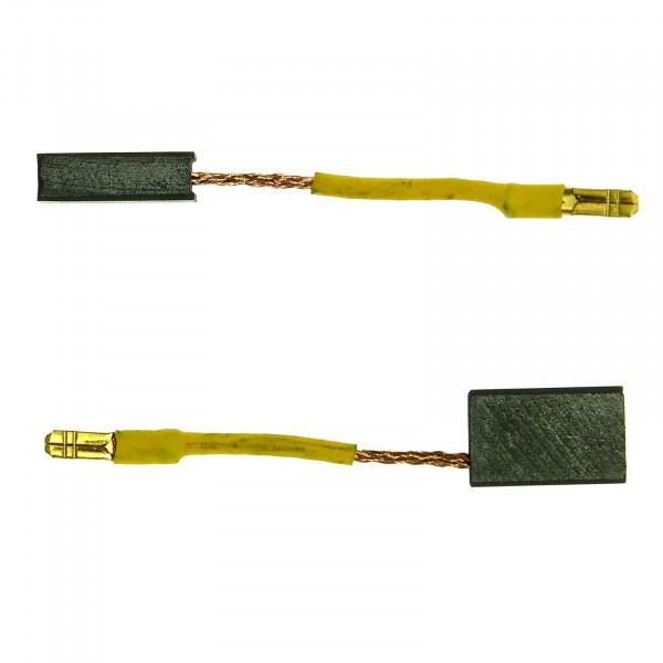 Spazzole di carbone per KRESS 1100 WS, 1400 WSE - 5x10x16 mm - PREMIUM (P2084)
