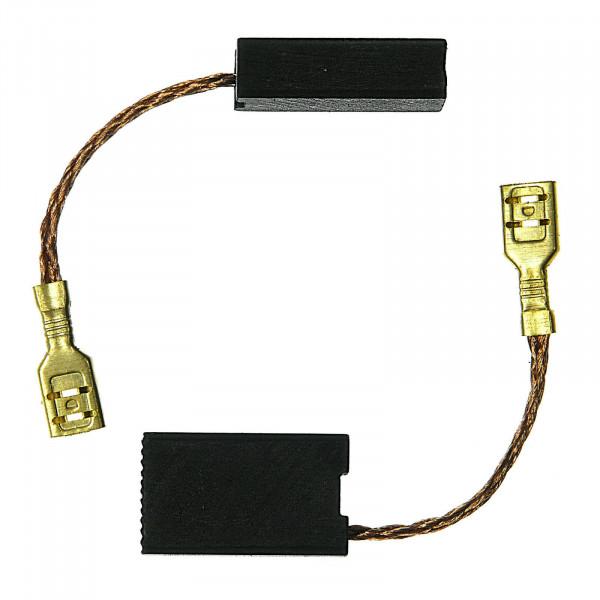 Spazzole di carbone per BLACK & DECKER GS 1600, G 1500 - 6,3x12,5x21 mm - PREMIUM (P2017)