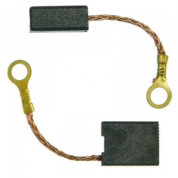 Spazzole di carbone per METABO W 21239 X Quick, W 25180, W 25180 X - 8x14x18 mm - PREMIUM (P2108)
