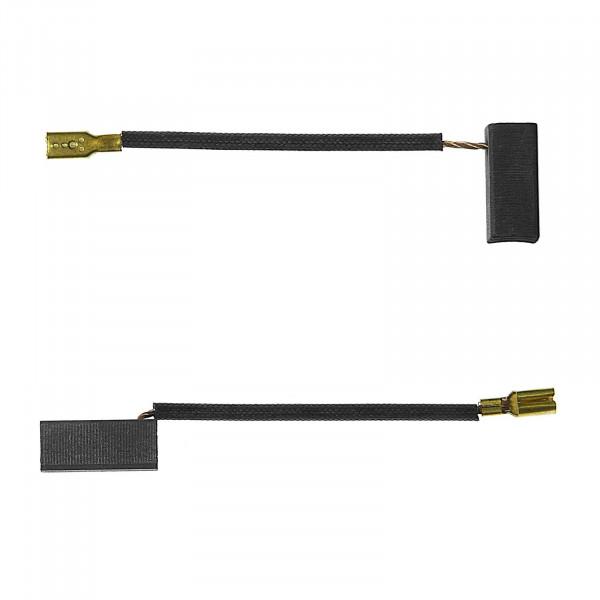 Kohlebürsten für BLACK & DECKER KG 72 A, KG 90, KG 90 A - 6,5x8x15 mm - PREMIUM (P2075)