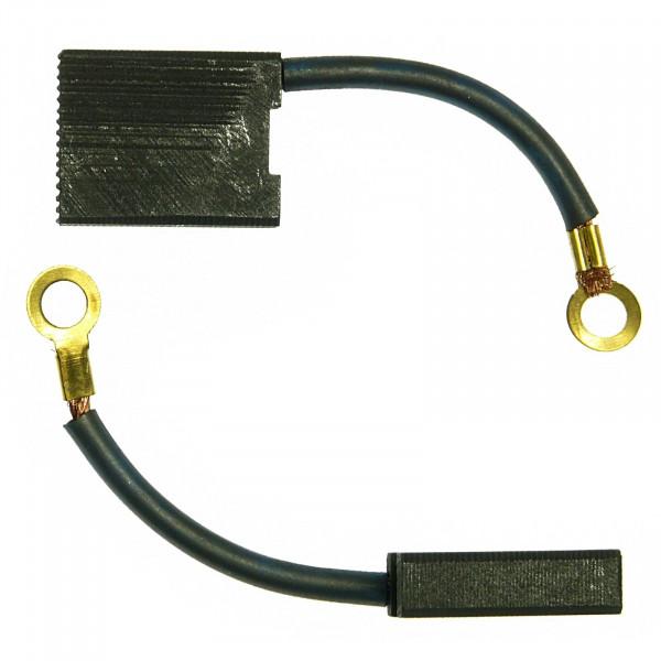 Spazzole di carbone per YELLOW PROFI LINE YPL 2000 ,YPL 2351 - 6x16x20 mm - PREMIUM (P2029)