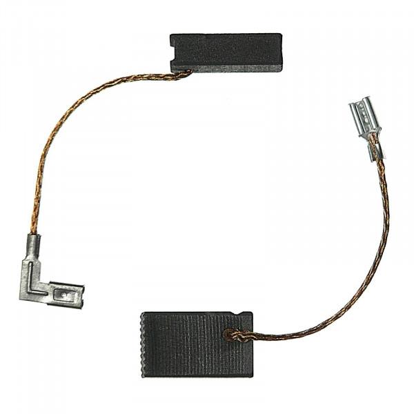 Kohlebürsten für ROTEX RO 150 FE, RO 150 FEQ ersetzt 494062 - 5x8x17 mm - PREMIUM (P2180)