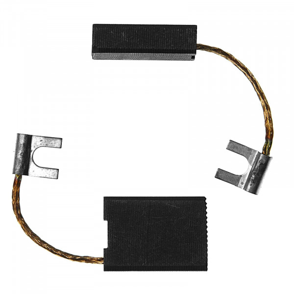 Spazzole di carbone per BLACK & DECKER PAG 620, PAG 620 LS - 6,3x16x22 mm - PREMIUM (P2076)