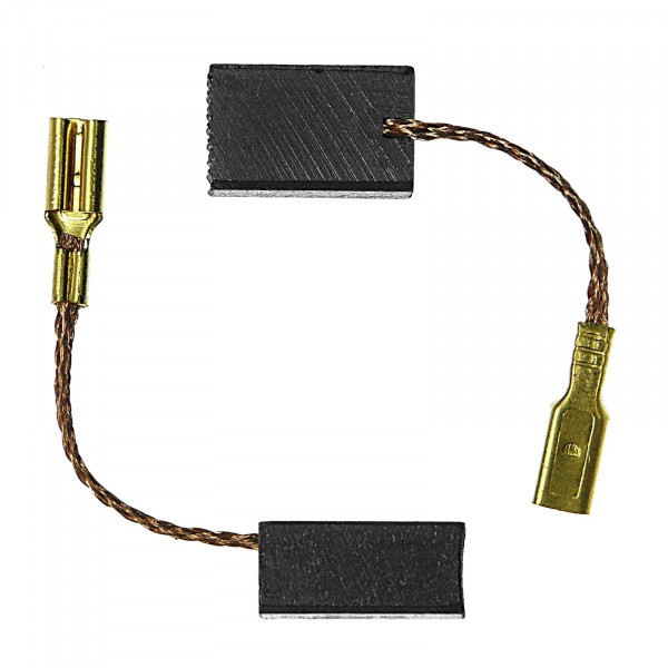 Kohlebürsten für RUPES EK 150 AE, EK 200 A, FR 32 E - 6x8x13 mm - PREMIUM (P2127)