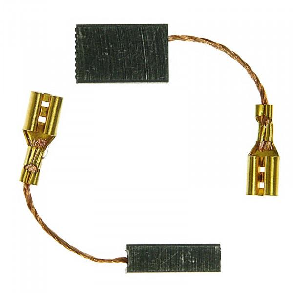 Kohlebürsten für AEG AG 1200-125, AG 1300-125 XC, AG 1300-125 XE - 5x10x16 mm - PREMIUM (P2099)
