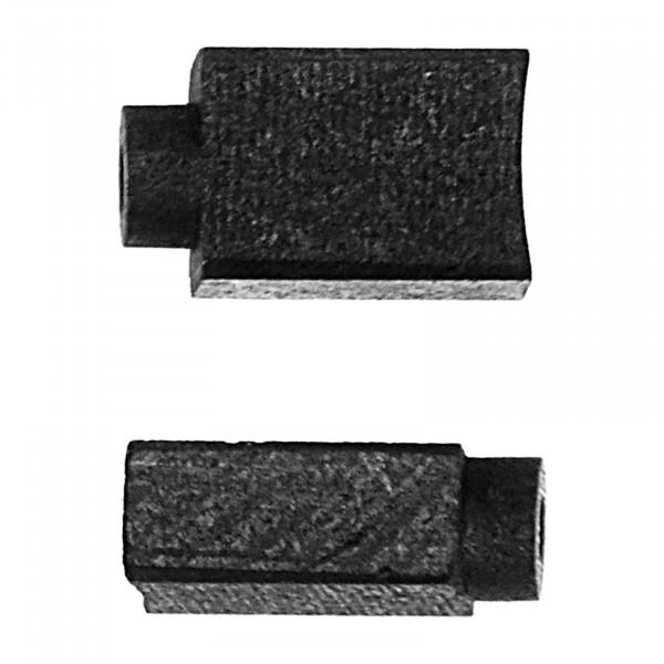 Kohlebürsten für AEG BE 13 RLD, BE 13 RLN, EX 450/125, SPE 65 - 5x8x12,5 mm - PREMIUM (P2222)