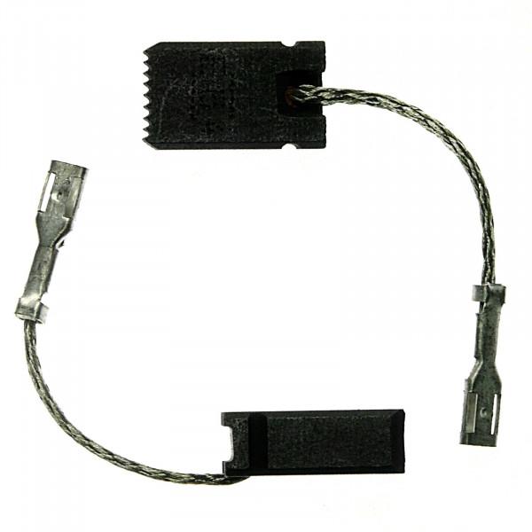 Kohlebürsten für BOSCH GWS 15-125 CI, GWS 15-150 CI, GWS 15-150 CIP - 6x10x17 mm - PREMIUM (P2195)