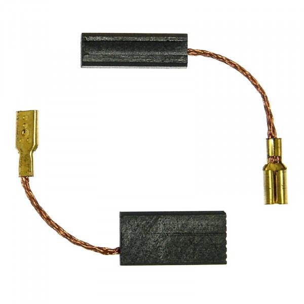 Spazzole di carbone per BOSCH GSR 18VE-2, GSR24VE-2, GSR36V-LI, Akku - 6x7,5x9 mm - PREMIUM (P2120)