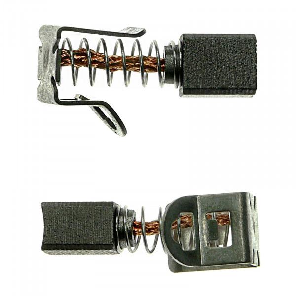 Kohlebürsten für BOSCH GSB24VE-2, GSR12VE-2, GSR14VE-2, Akku - 6x7,5x9 mm - PREMIUM (P2120)
