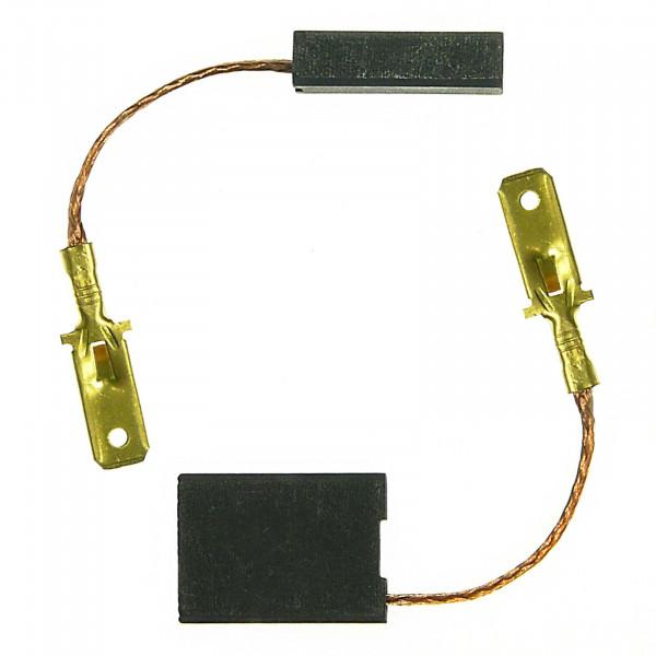 Spazzole di carbone per METABO W 23230 X,W 25180,W 2518X - 6x16x22 mm - PREMIUM (P2071)