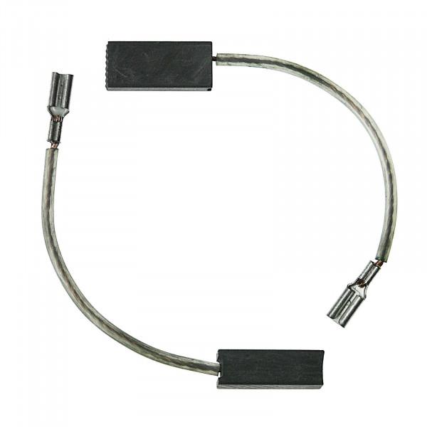 Spazzole di carbone per BLACK & DECKER BD 423, D 425 RE - 6x8x18 mm - PREMIUM (P2078)