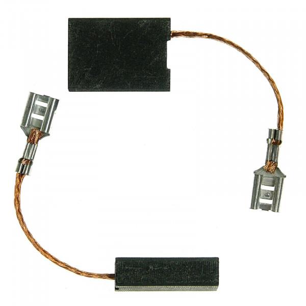 Spazzole di carbone per BOSCH GWS 25-230+J, GWS 2000-180+J - 6,3x16x22 mm - PREMIUM (P2057)