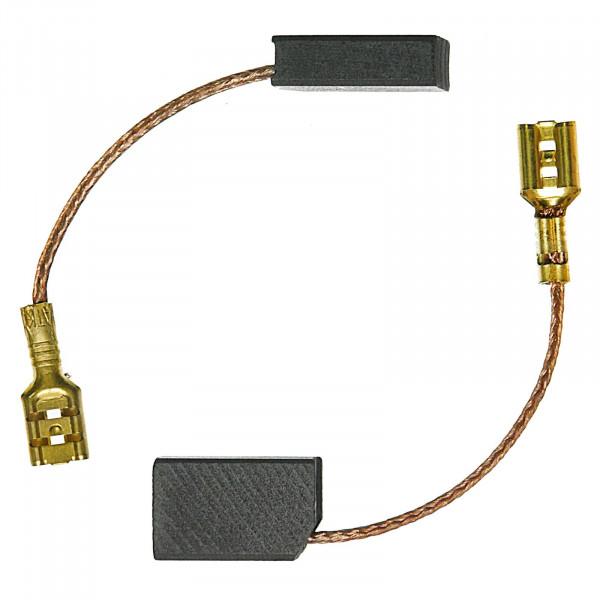 Kohlebürsten für FEIN WSG 8-115, WSG 9-125, WSG 12-70 E - 5x10x17 mm - PREMIUM (P2175)