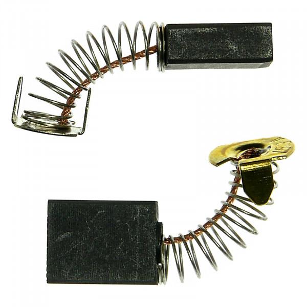 Spazzole di carbone per MEISTERCRAFT MTS 1500 Professional Nr.5905440 - 6,5x13,5x16 mm - PREMIUM (P102)