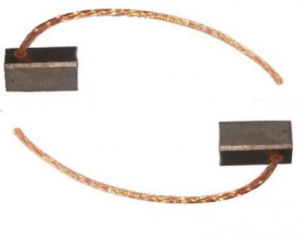 Kohlebürsten Kohlebürsten KFZ PKW LKW Lüfter Gebläse Scheibenwischer 6,3x6,2x13mm (P2941)