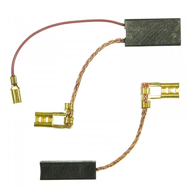 Kohlebürsten für DEWALT DW 570 KB, DW 580 EKA ersetzt 487131-00 - 6,3x10x20 mm - PREMIUM (P2199)