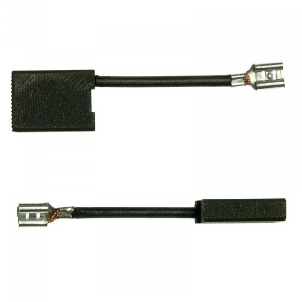 Spazzole di carbone per BOSCH GWS 26-230 H, GWS 26-230 JBV - 6x16x21,5 mm - PREMIUM (P2028)