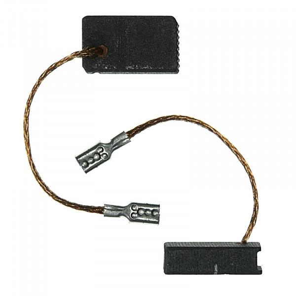 Kohlebürsten für PROTOOL AGP 125-12 C, AGP 125-12 CQ, AGP 125-12 - 5x10x17 mm - PREMIUM (P2138)