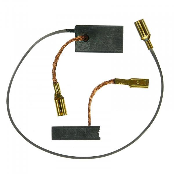 Spazzole di carbone per BOSCH GWS 14-125 CE, GWS 14-150 C - 5x10x17 mm - PREMIUM (P2062)